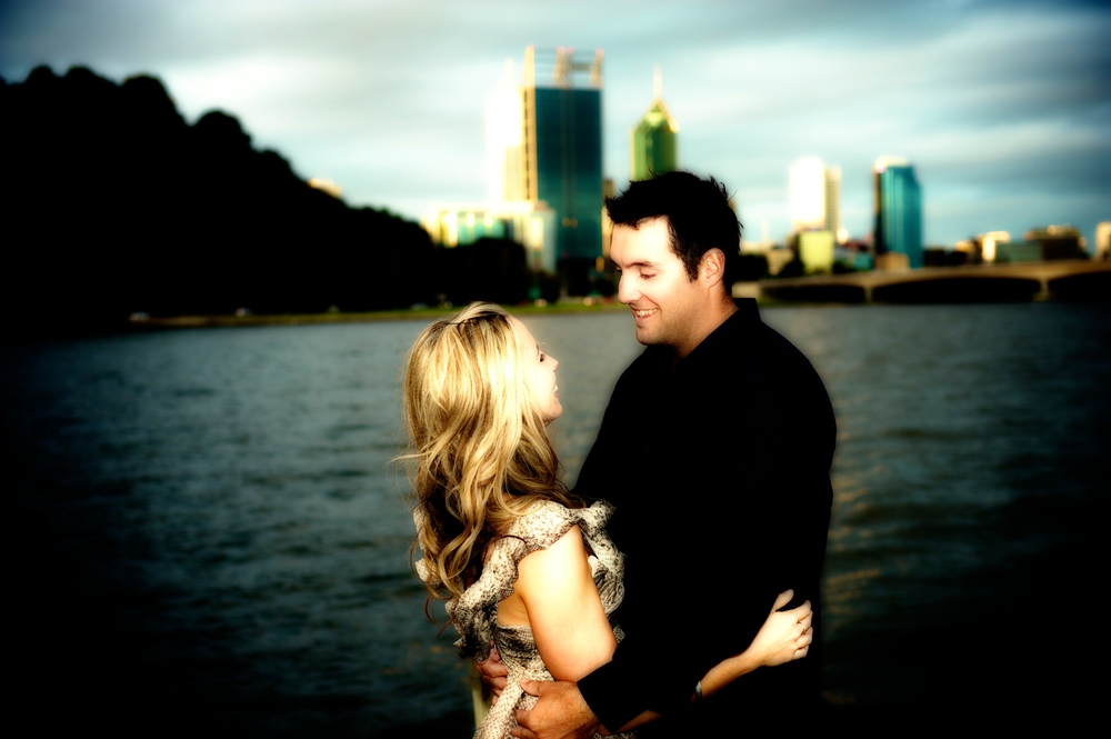 The city of Perth is a perfect setting for engagement photography