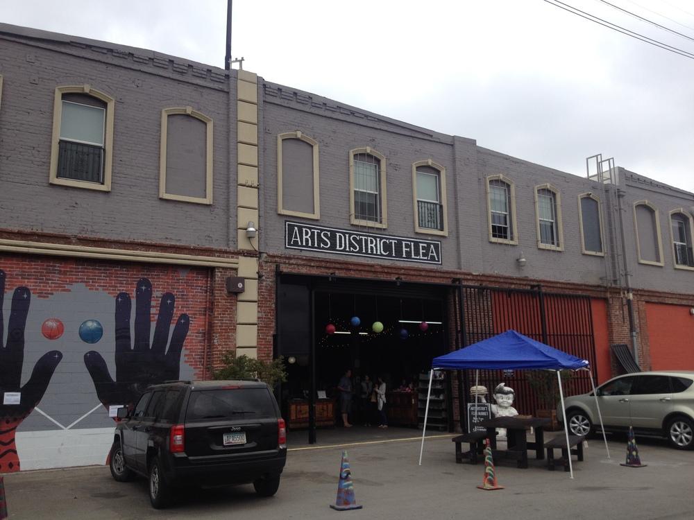 tucked away on a random street.. the best kind of random. 453 Colyston St, LA, CA 90013