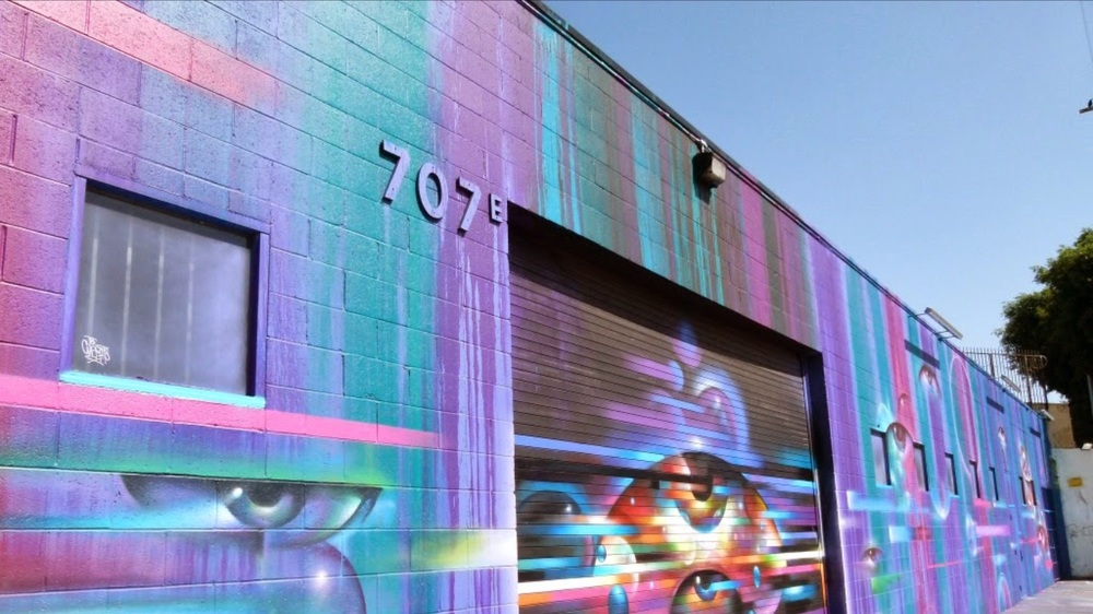 Eighty Two - new-ish video arcade bar in the Arts District DTLA