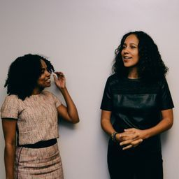 me & (my bff in my head) gina prince bythewood (writer/director) at Howardwood 2014
