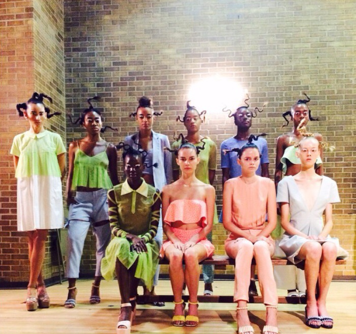 Okpo Academy Picture Day at NY Fashion Week (Spring/Summer 2015)