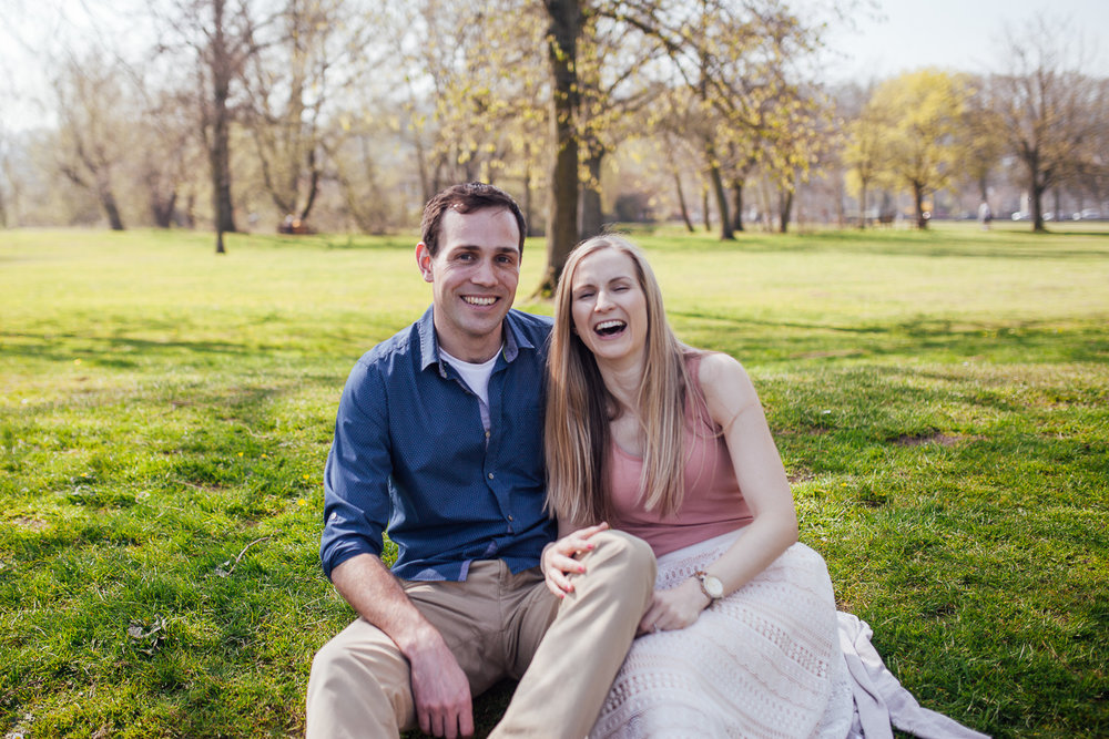 My recent engagement shoot in Bakewell with Alice & Jake!