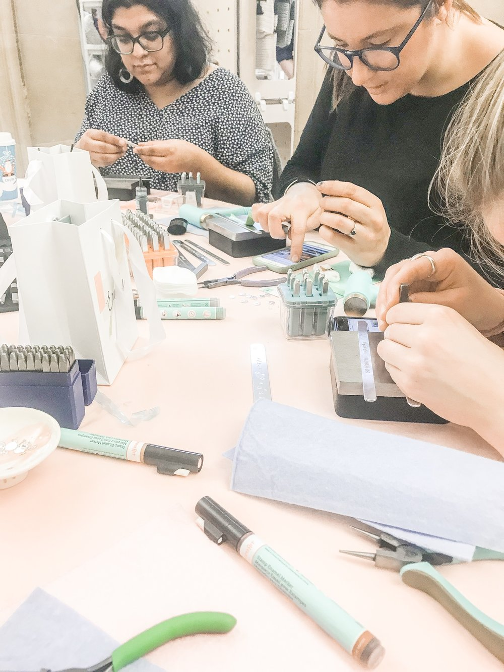 Pouss Jewellery workshop Etsy Made Local 2018