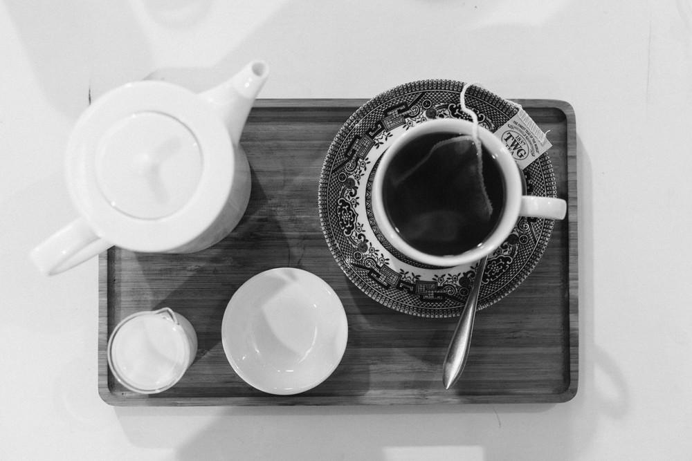 tea pajamas and jam