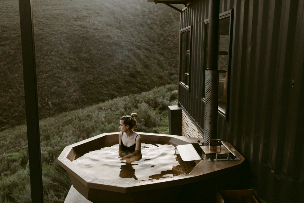 wood fired hot tub botrivier