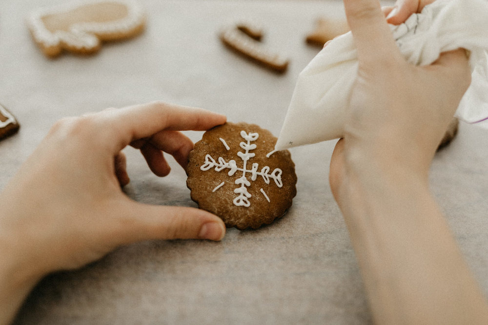 Gingerbread cookies christmas recipe