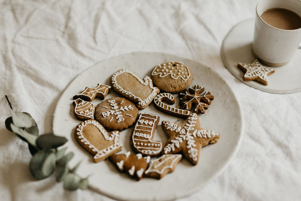 Easy christmas ginger cookies recipe