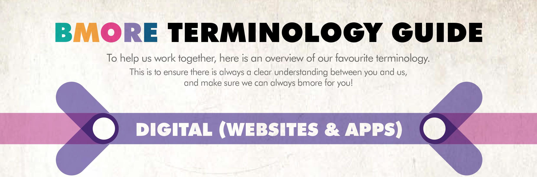 bmore terminology guide