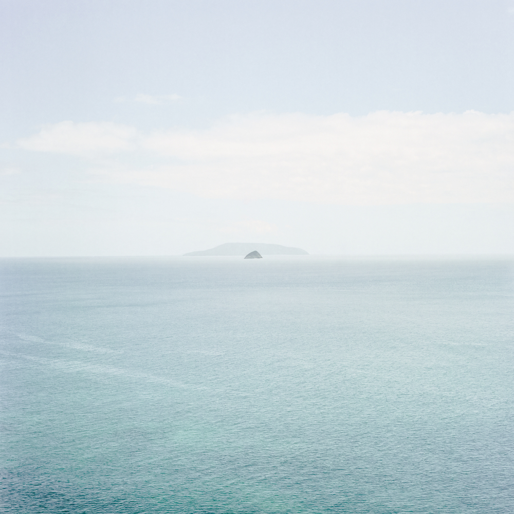 Trace I (Looking Forward, Horizon Islands)     2015   Archival Pigment Print on matte photo rag  918mm x 918 mm  Edition of 5   280mm x 280mm Edition of 12