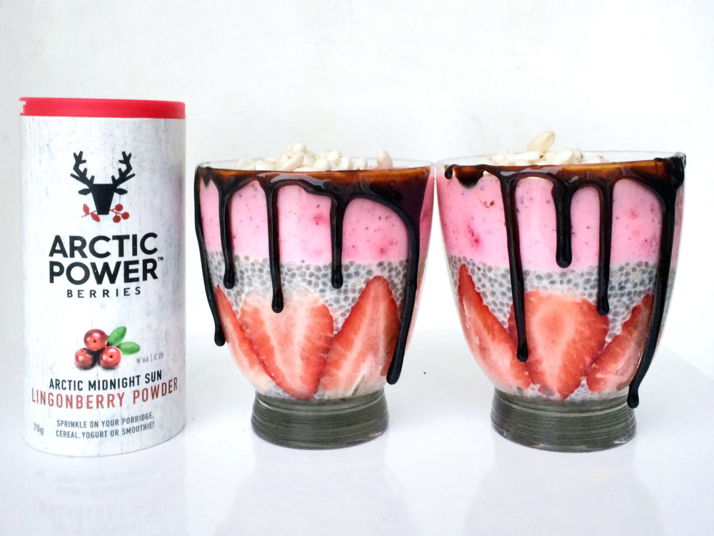 FIND OUT WHAT YOU CAN MAKE WITH ARCTIC LINGONBERRY POWDER ON OUR WEBSITE WWW.ARCTICPOWERBERRIES.COM
