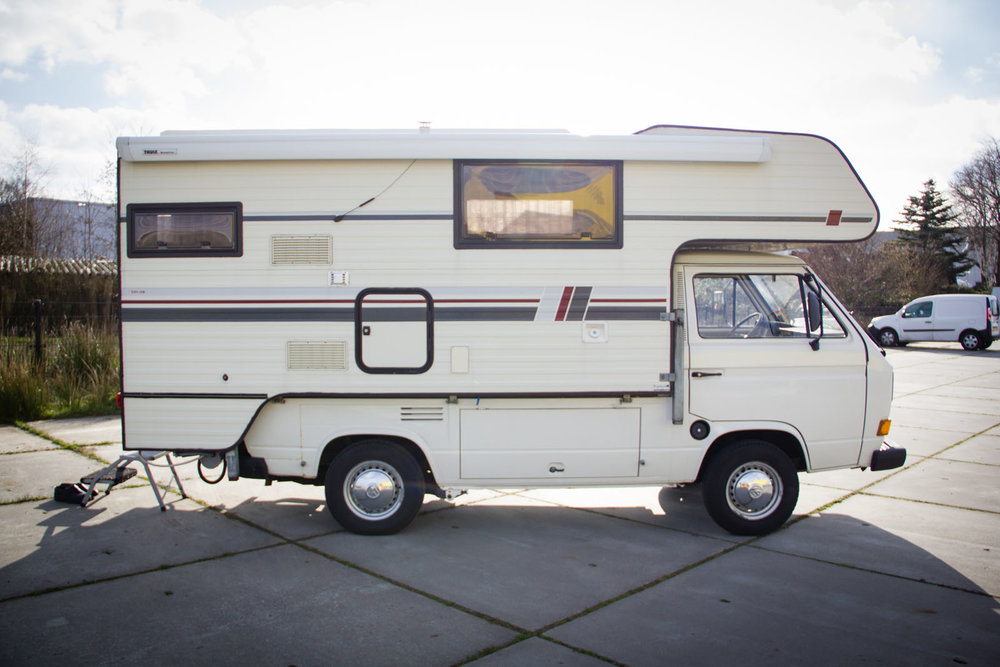 Volkswagen Transporter T2 Pick up Camper
