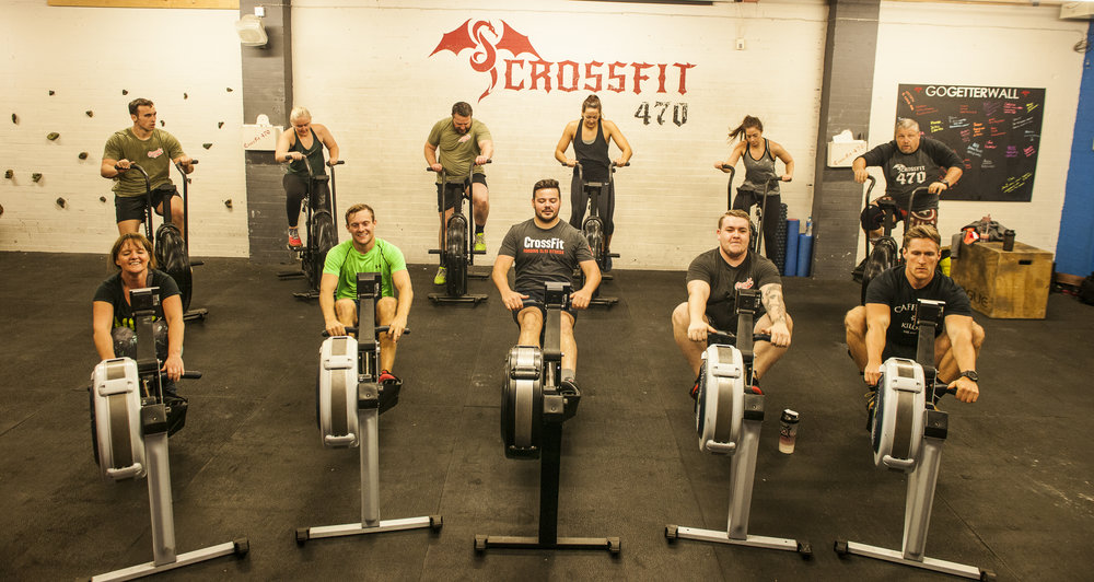 Team Crossfit 470 - Not just fitness. A Lifestyle .