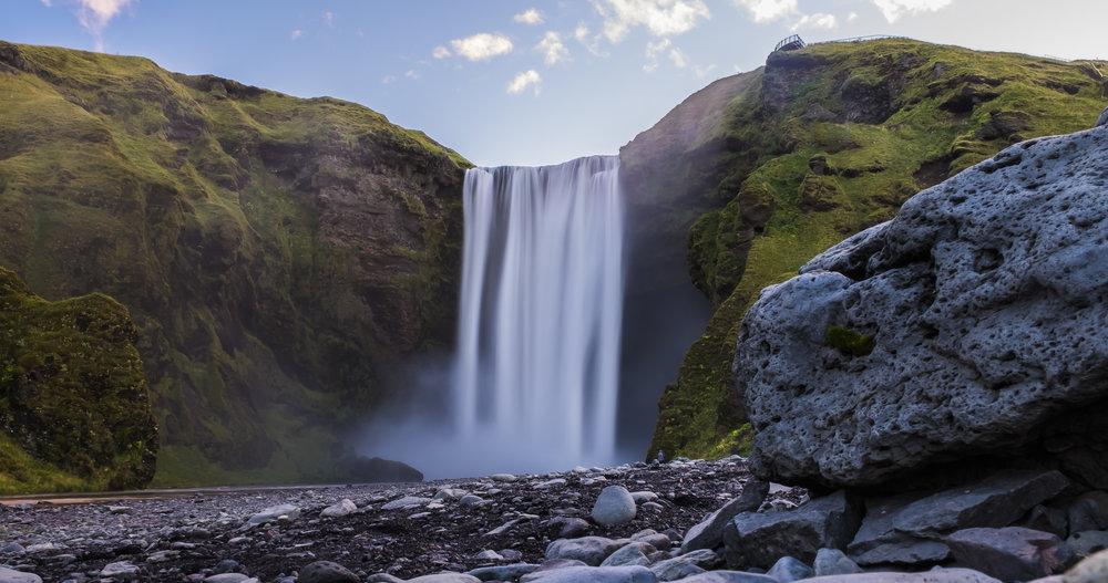 Skogafoss Iceland...