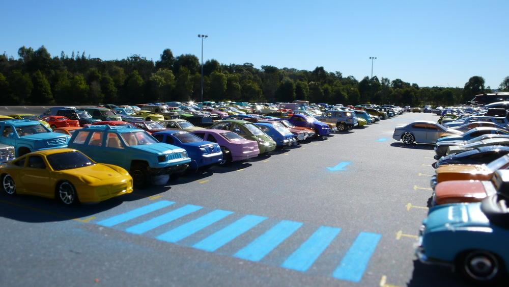 miniature carpark