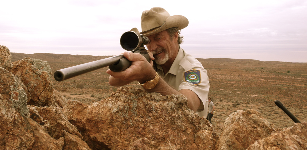 Bryan Brown as the country cop