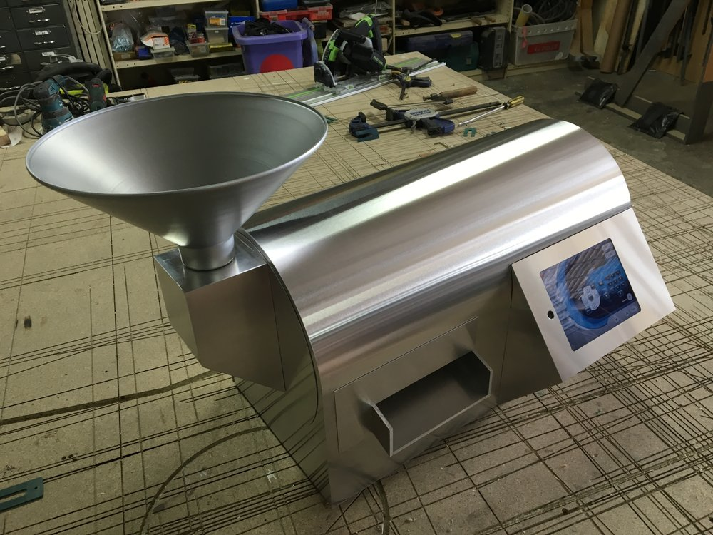 build of dog food machine by Yippee Yi Yay