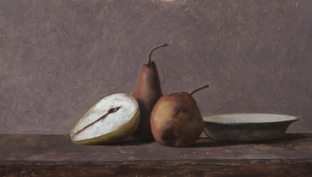Still Life. 7x12. Oil on Panel
