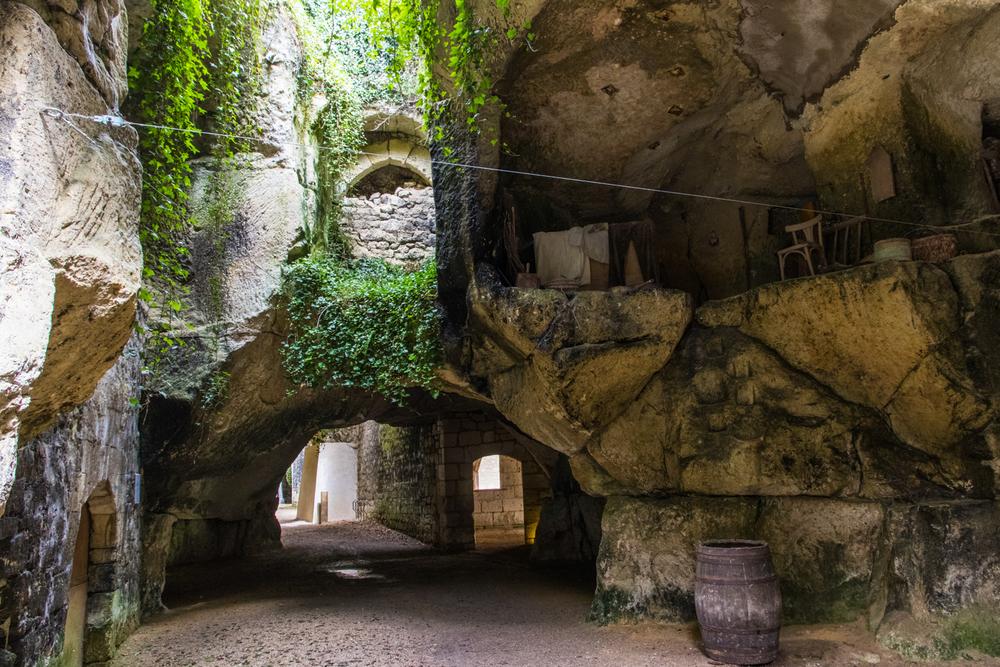 A troglodyte, Loire Valley