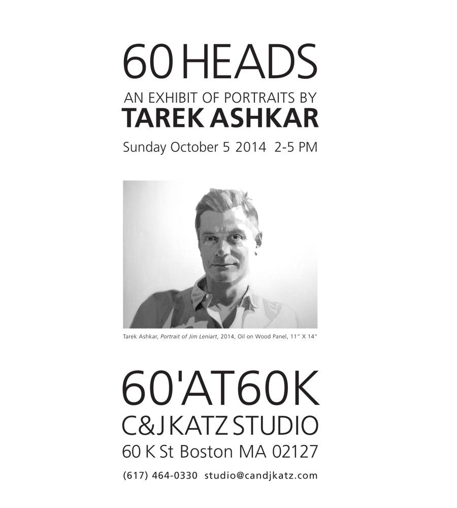 Tarek Ashkar:  60 Heads