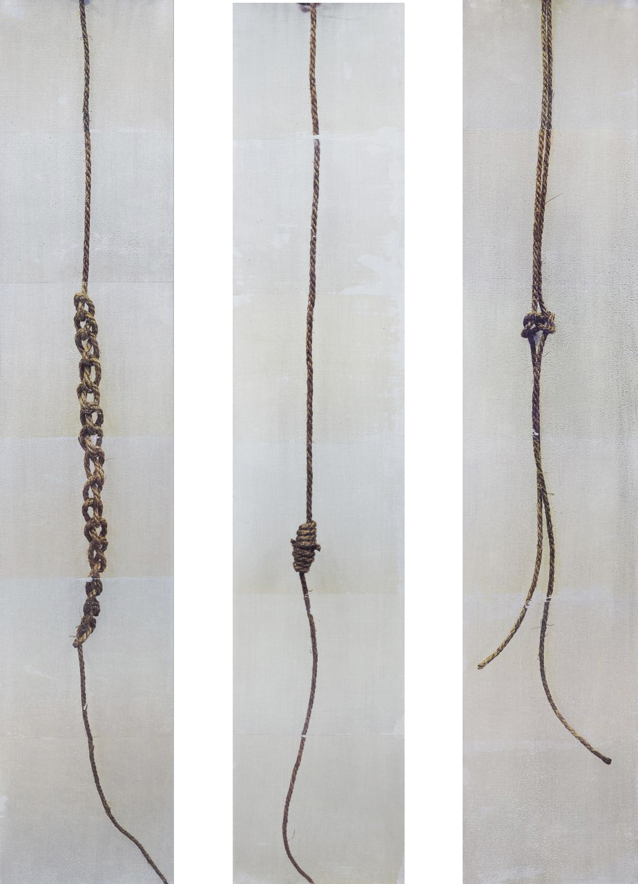 Sennet chain, Bloodknot, True lovers:  Image transfers on steel. 2013