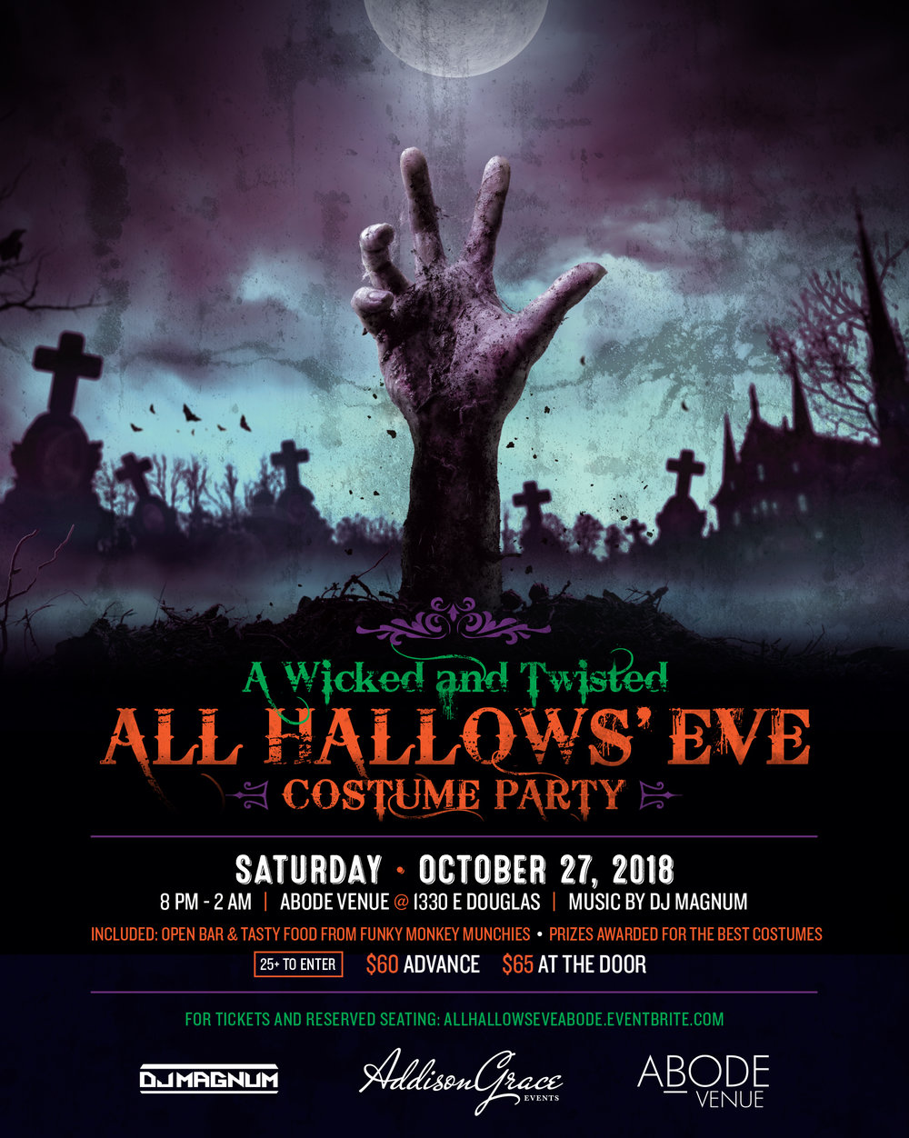 VISIT    https://allhallowseveabode.eventbrite.com    to purchase tickets!