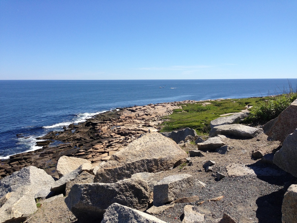 View from the northeast corner of Halibut Point State Park