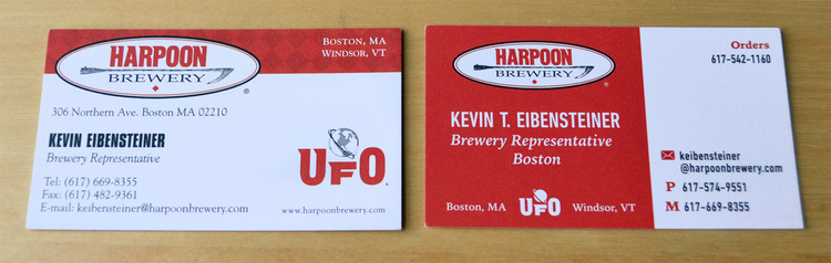 Print harpoon business cards amanda jonovski the former business cards above left did not allow for any customization many sales representative have unique twitter accounts and both an office and colourmoves