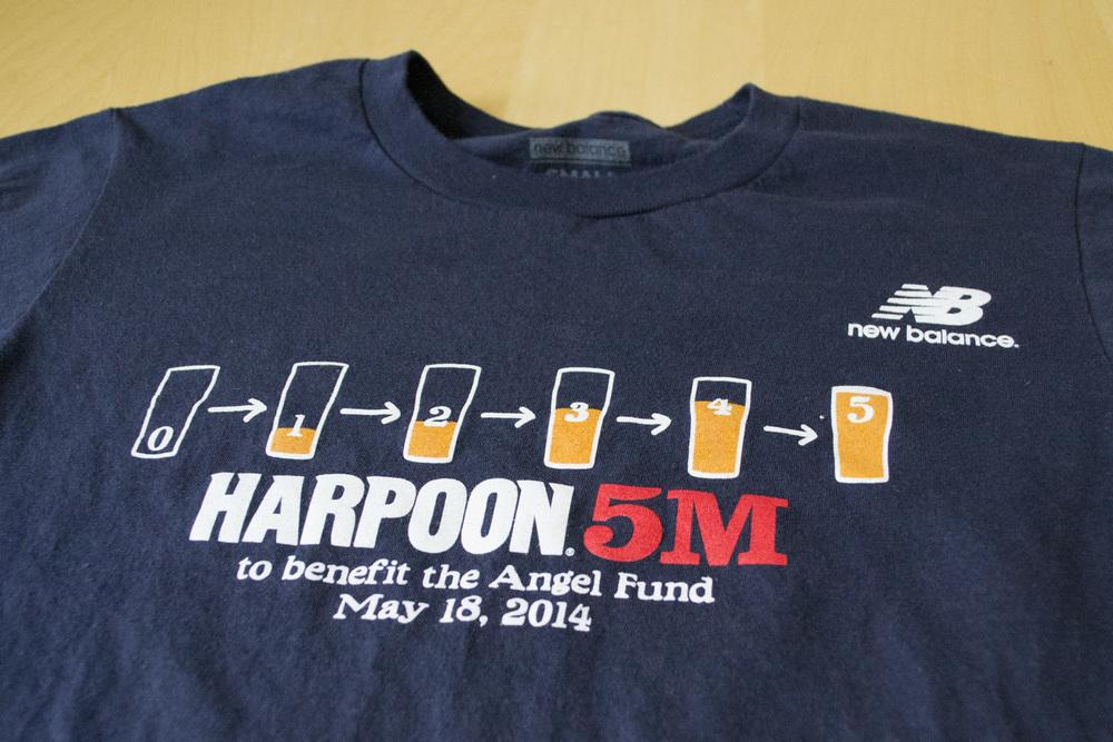 Runner shirt front