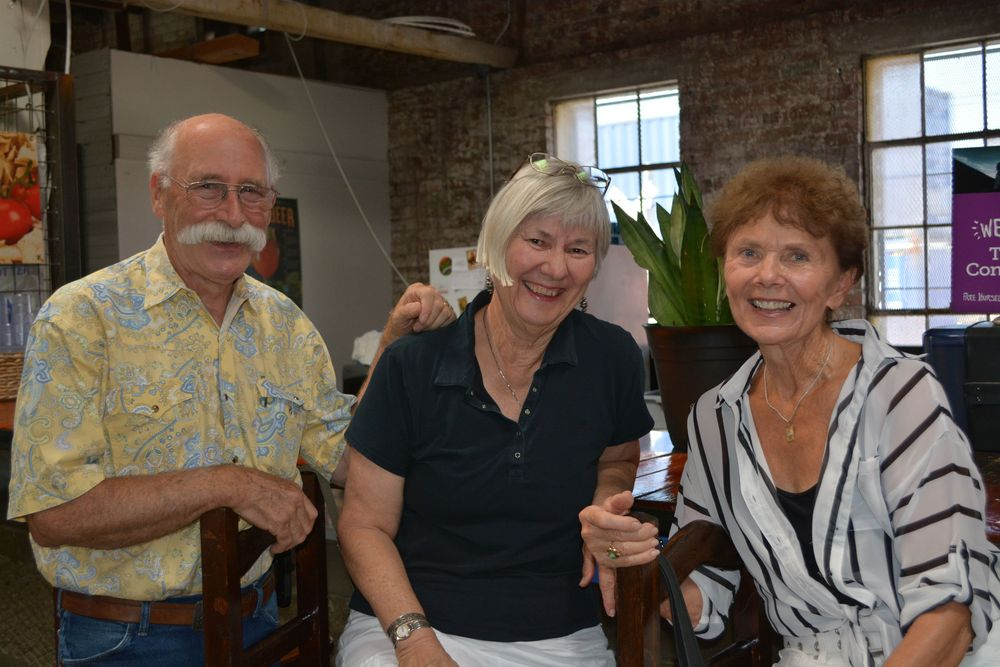 Steve Plevel, Marty Plevel and Diane Collins