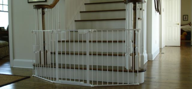 Black U0026 White Baby Gates New York City (NYC) U2014 Baby Proofing Service, Long  Island, N.Y.C. Westchester, Baby Gates