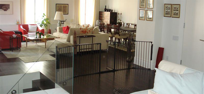 "Broadway baby gate ""black"""