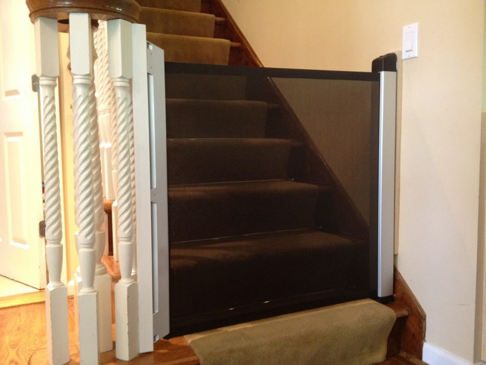 Retractable Baby Safety Gate New York City Nyc Baby