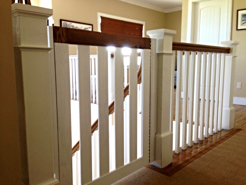 Custom Matched Baby Gates
