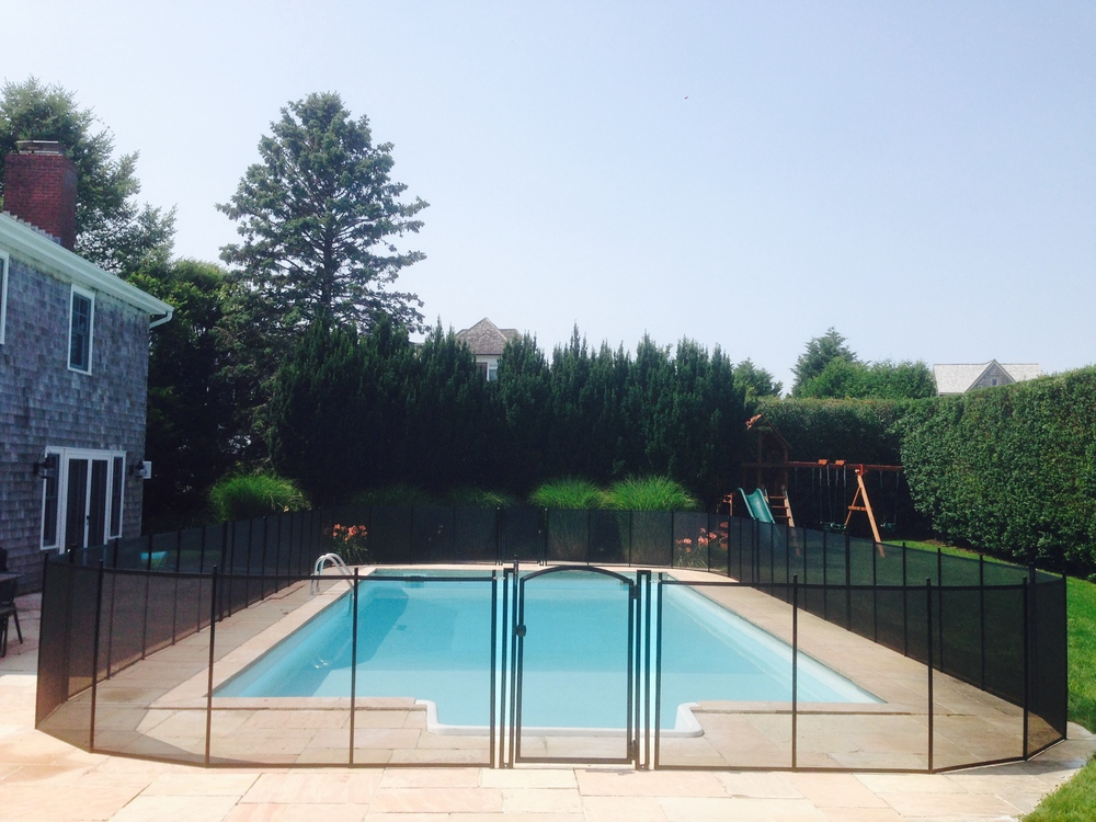 Pool fence, Removable, mesh