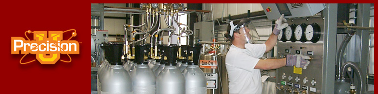 Get certified in Specialty Gas Filling at Precision University!
