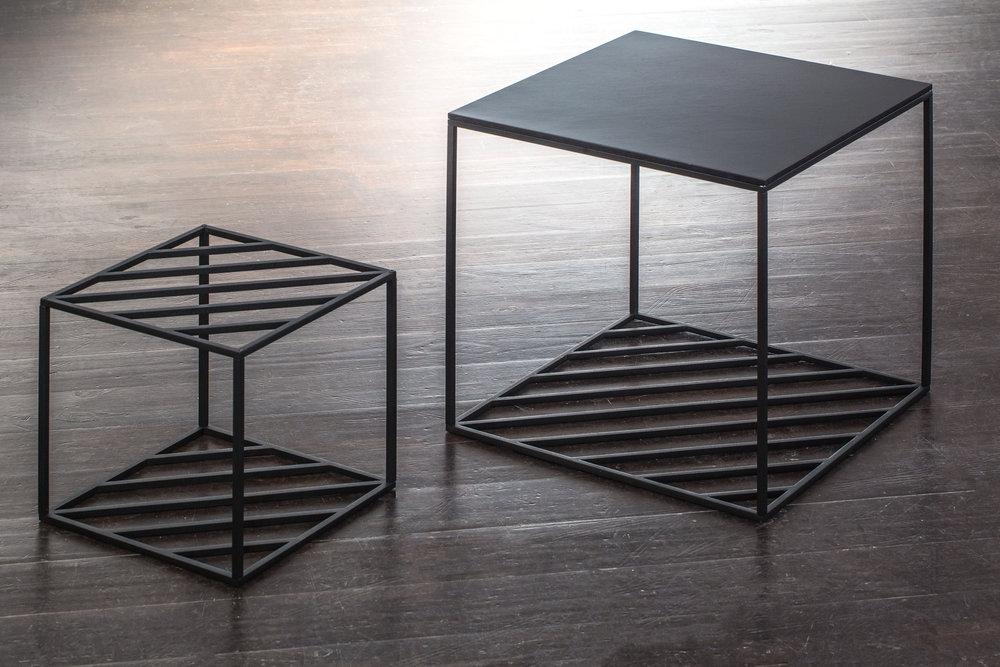 Дизайн студия FILD создала модификацию своего журнального столика  Hatch Table  с использованием черного шпона  Gabon Ebony . После выставки на Неделе дизайна в Киеве, столик отправился на выставку скандинавского дизайна Stockholm Design Week.