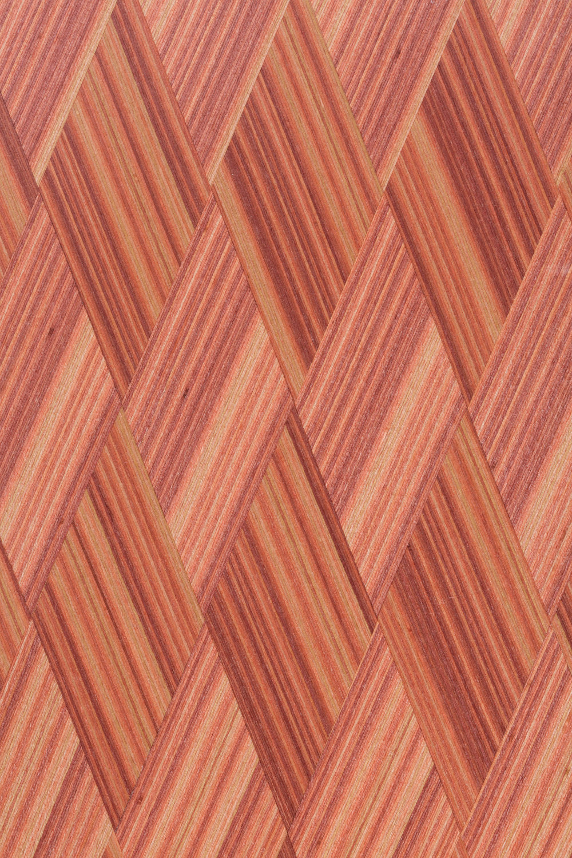 Диагональ Плетёнка Розовая