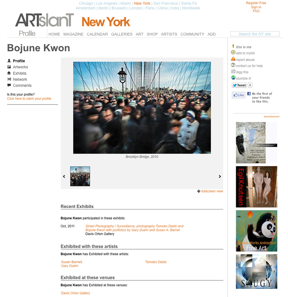 ARTSLANT NEW YORK