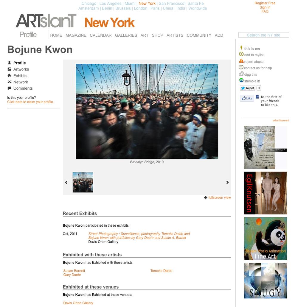 ARTSLANT NEW YORK