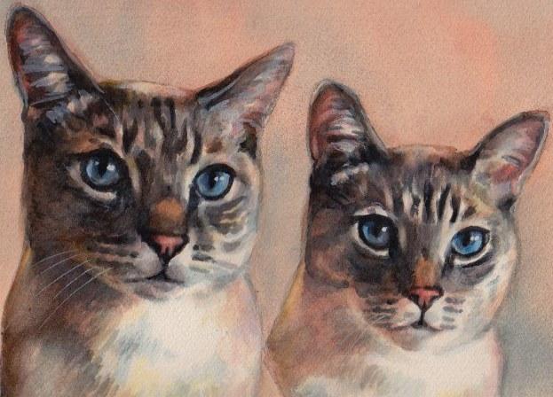 Portrait of Lava and Kusha