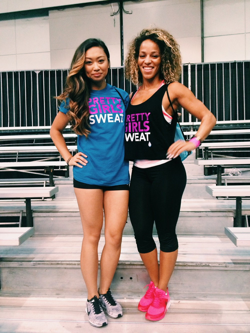 I first saw Ashley Joi at the Nike Training Club Tour earlier this year,  and she became an instant inspiration. She is not only beautiful on the  outside but ...