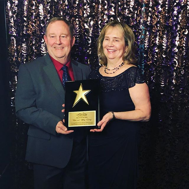 "What a great night at the Shelton Chamber of Commerce Annual Awards Gala! Your 2018 winners for ""Best Boss""! We couldn't agree more 🤩🏆❤️"