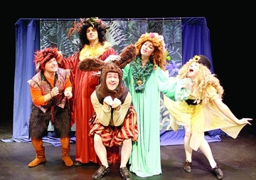 Shakespeare for students Theatre by the Bay is bringing a comedic rendition of Shakespeare's 'A Midsummer Night's Dream' to schools across Simcoe County. The group launched the program on April 16, with a performance for Patrick Fogarty Catholic Secondary School students.