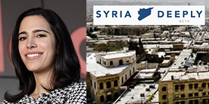 LARA SETRAKIAN Founder & CEO Syria Deeply, News Deeply World Economic Forum Young Global Leader