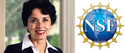 DR. FRANCE CORDOVA  - Executive Director, National Science Foundation (NSF); Past President of Purdue University; First female Chief Scientist and youngest Chief Scientist, NASA  (Womensphere Global Award)