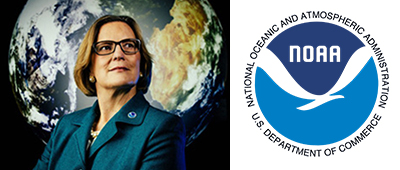 DR. KATHRYN SULLIVAN  - Undersecretary, Administrator, National Oceanographic & Atmospheric Agency (NOAA); TIME 100 Most Influential People   (Womensphere   Global Award)