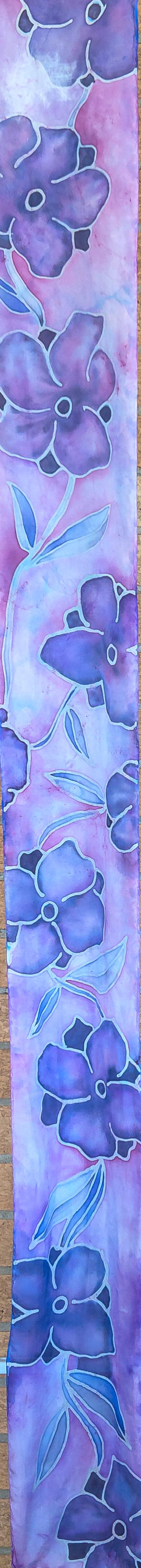 """Violets 8""""x54"""" $75"""