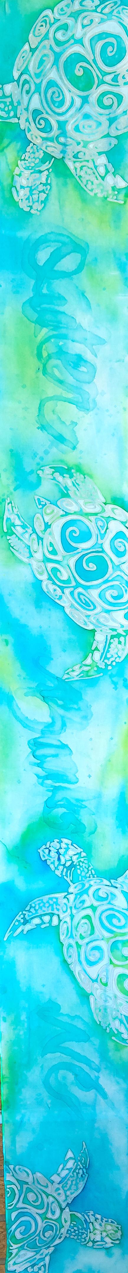 """OBX Turtles 8""""x54"""" $75"""