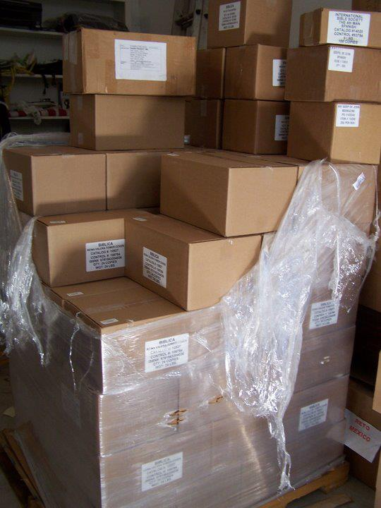 1800 pounds of Bibles, Children's Bibles, Children's Bible Story books, Gospel Booklets and New Testaments