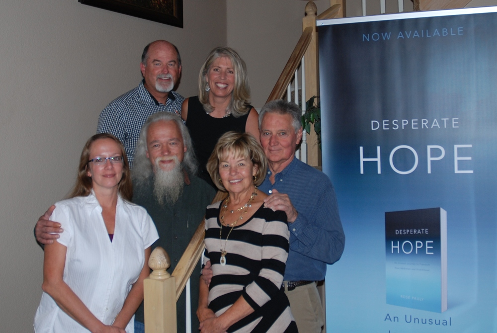 Steve and Rose, Matt and Denise with Volney and Karen James with Ethan Henry Publishing